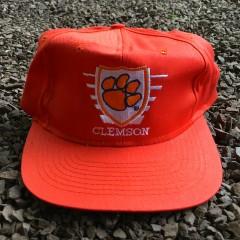 Vintage 90's Clemson NCAA snapback hat