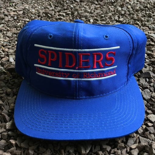 Vintage University of Richmond spiders the Game split bar NCAA snapback hat