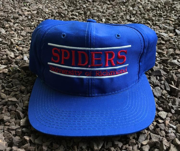 e7bdce62f3d8a Vintage University of Richmond spiders the Game split bar NCAA snapback hat
