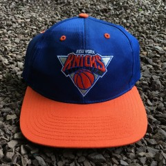 Vintage New York Knicks Twins NBA snapback hat
