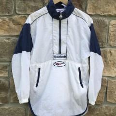 Vintage 90's Reebok Pullover windbreaker jacket