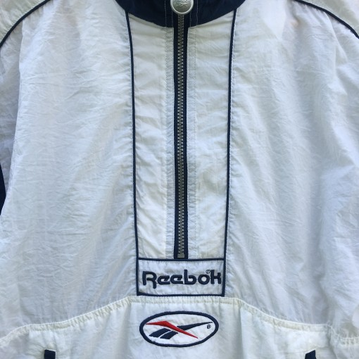 vintage 90's Reebok Windbreaker jacket size small