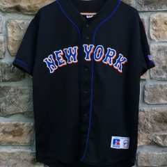 vintage 2000 New York Mets Russell MLB jersey size medium