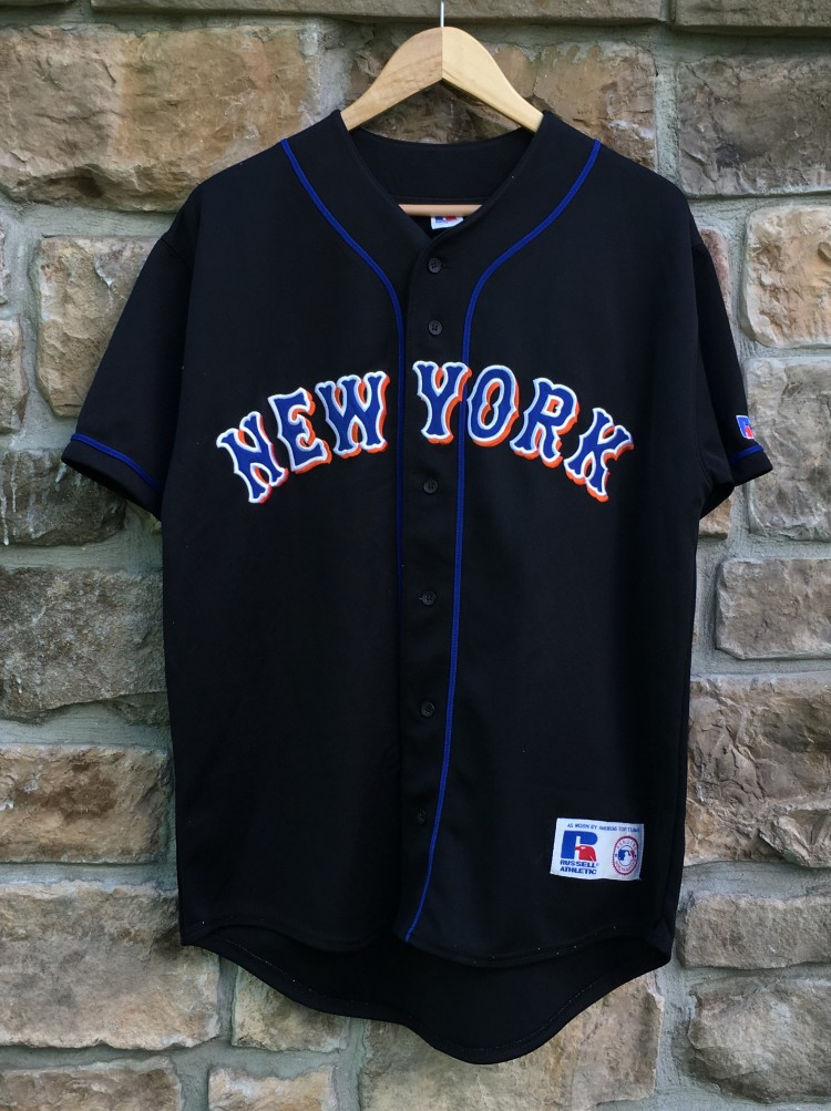5400edc7e vintage 2000 New York Mets Russell MLB jersey size medium