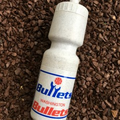 washington bullets  water bottle