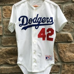 Vintage Jackie Robinson Brooklyn Dodgers jersey men's small size 36