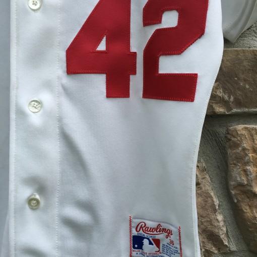 Vintage Jackie Robinson Dodgers authentic jersey size 36