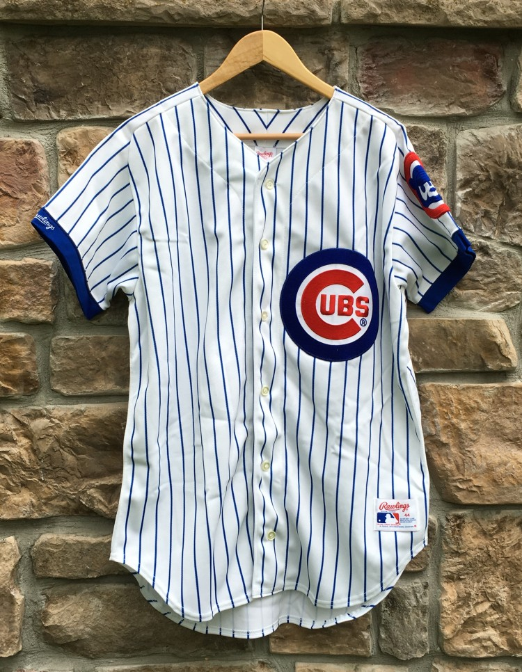 6d09d006f88 1990 Ryne Sandberg Chicago Cubs Authentic Rawlings MLB Jersey Size ...