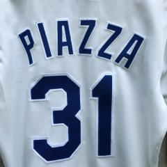Vintage Mike Piazza Dodgers jersey size 36 small