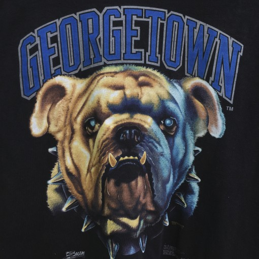 vintage 90's Georgetown Hoyas intense mascots t shirt