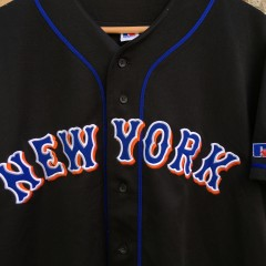 Vintage Black New York Mets Alternate jersey size medium