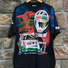 Vintage 90's John Force Racing t shirt