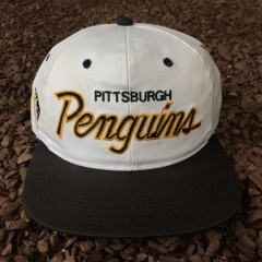 Pittsburgh Penguins Sports Specialties Script snapback hat