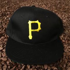 Late 80's Pittsburgh Pirates MLB snapback hat