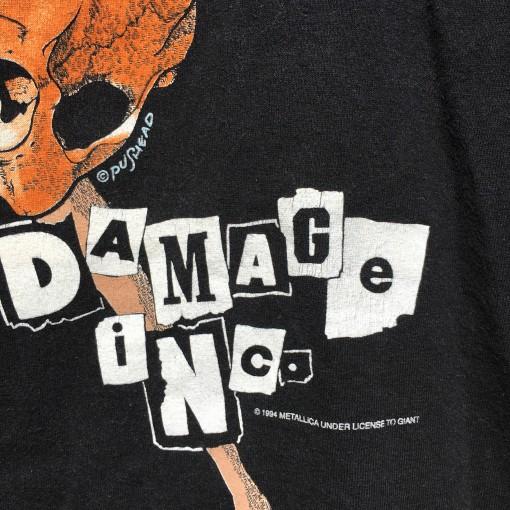 OG 1994 Vintage Metallica Rock T shirt