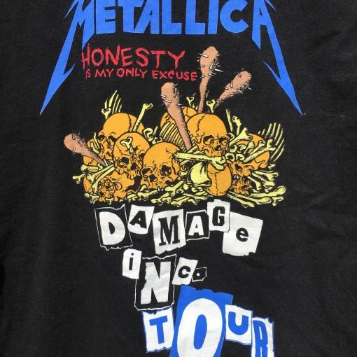 Vintage Damage INC Metallica t shirt