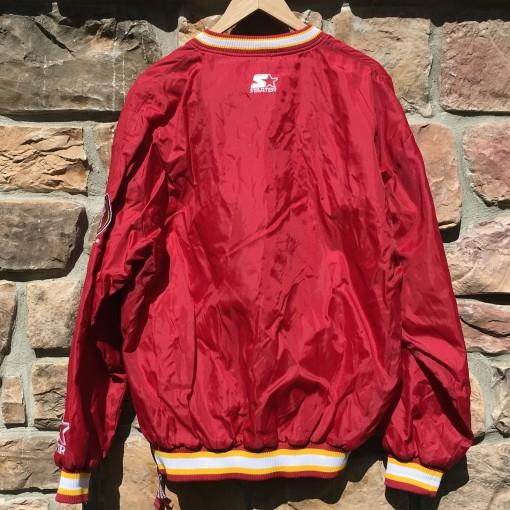 Maroon starter jacket