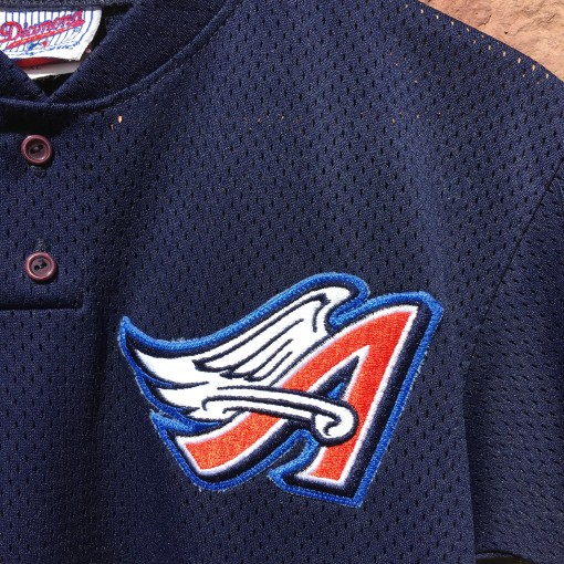 Vintage Anaheim Angels Majestic authentic mlb jersey