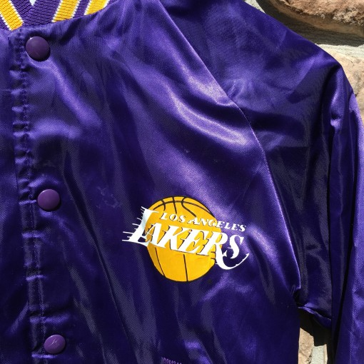 LA Lakers Chalkline NBA jacket youth large