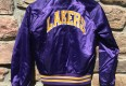 LA Lakers Chalkline satin jacket