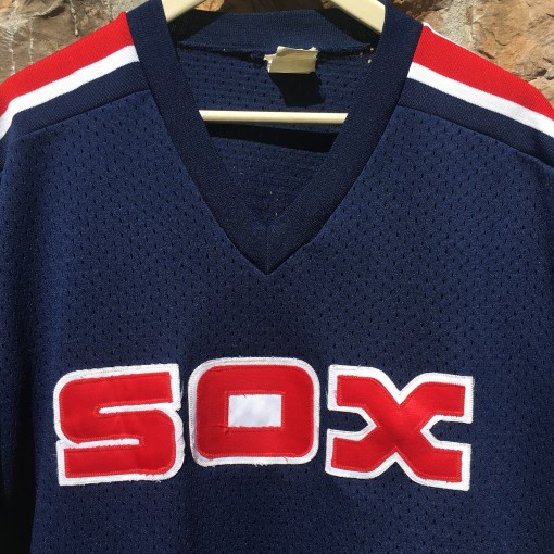 Vintage Chicago White SOX blue red mlb jersey size XL