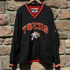 Vintage Philadelphia 76ers Champion NBA jacket