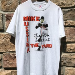Vintage Mike Mussina Baltimore Orioles MLB t shirt