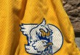 vintage game worn University of Delaware NCAA shorts