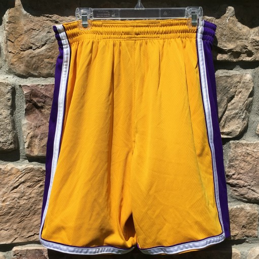 Vintage LA Lakers Authentic Nike Dri Fit NBA shorts