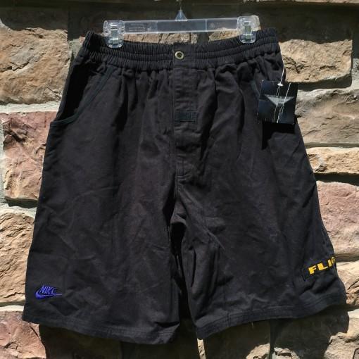 Vintage 90's Nike Flight Shorts size xl black