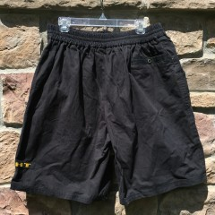 Deadstock black nike shorts