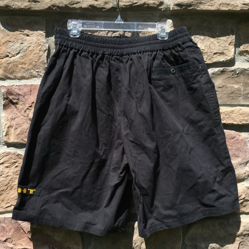 Deadstock black nike shorts