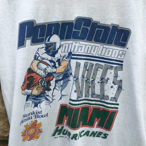 Vintage 80's Penn State NCAA T shirt