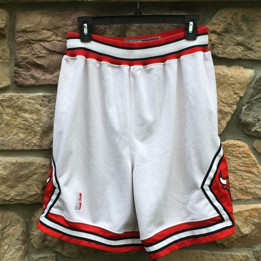 Vintage 90's Chicago Bulls Nike Authentic On court NBA shorts size 34
