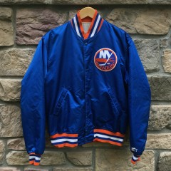 Vintage New York Islanders Starter Satin NHL jacket size large