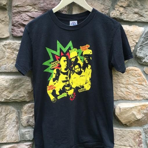 Vintage Kanye West Rap Concert t shirt