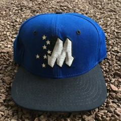 vintage 90's Orlando Magic New Era NBA Snapback hat
