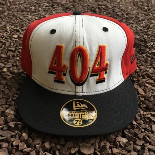 Vintage Atlanta Hawks New Era 404 Pinwheel fitted hat