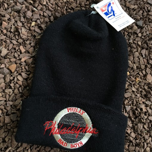 Vintage Philadelphia Bad Boys The Game Beanie hat