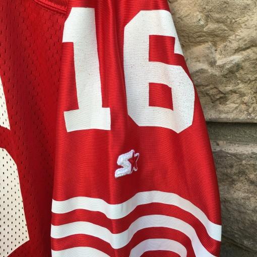 Vintage Joe montana Starter NFL jersey
