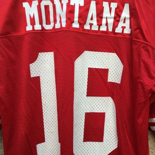 Vintage Joe Montana Jersey