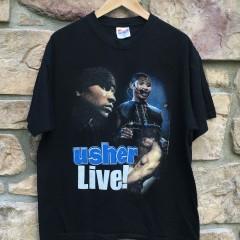Vintage Usher Kanye West Rap T shirt