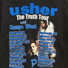 Vintage Kanye west usher rap hip hop concert shirt