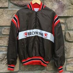 vintage 80's Cleveland Browns NFL Pullover jacket