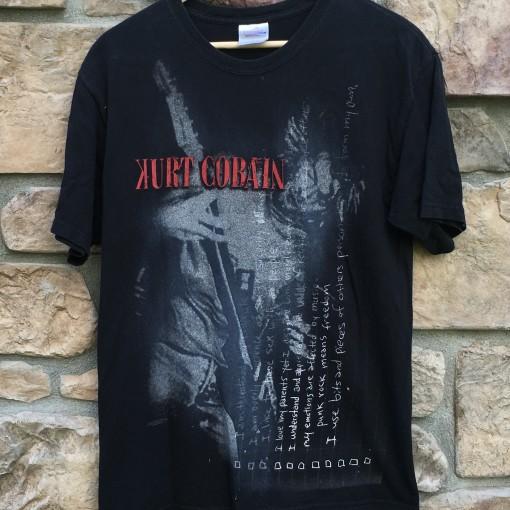 vintage Kurt Cobain t shirt
