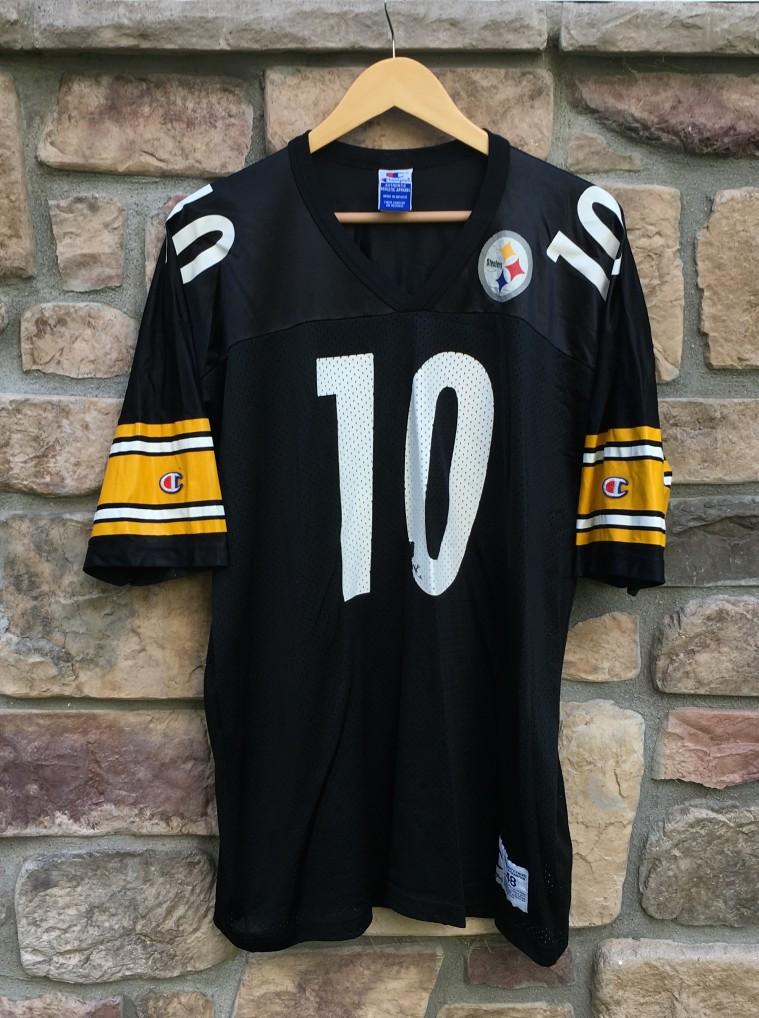 76bcb514412 1997 Kordell Stewart Pittsburgh Steelers Champion NFL Jersey Size 48 ...