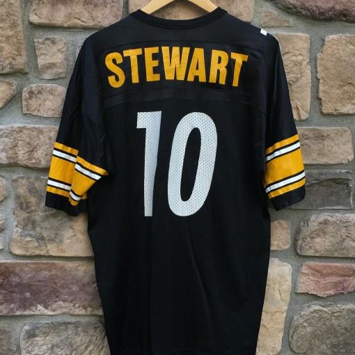 Vintage Kordell Stewart Pittsburgh steeler champion NFL jersey size 48