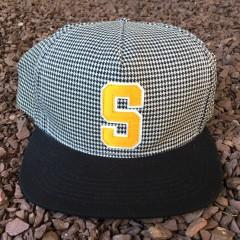 Supreme Houndstooth Snapback hat spring summer 2012