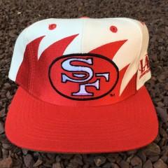 Vintage 90's San Francisco 49ers Logo Athletic Sharktooth snapback hat