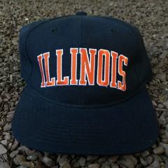 Vintage Illinois Fighting Illini Starter Arch Snapback hat